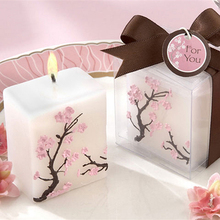 Peach candle wedding/party/home/Church/Xmas/Valentine's Day Decoration Scented Candle Wedding Favor Greet Gift Free Shipping
