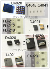 8pcs/set for iPhone 6S Backlight Kit IC U4020+Coil L4020 L4021+Diode D4020 D4021+Capacitor C4023 C4041+Filter FL4211 4212 4213(China)