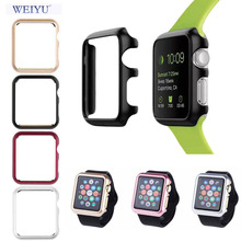 WEIYU 2017 New 38 42 mm Watch PC Frame Case Cover For Apple Watch Series 1/Series 2 Cover For Apple Watch Sport Edtion(China)