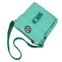 JINQIAOER Brand Small Women Bag Fashion Water Resistance Nylon Messenger Bag Ladies Flap Handbag Travel Crossbody Shoulder Bag
