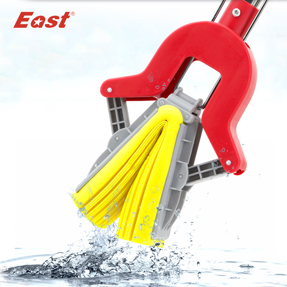 East PVA Collodion Sponge Mop Floor Cleaning Mop Folding Absorbing Squeeze Water Glue Cotton Mop Mop Household Cleaning Tools(China (Mainland))