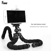 FGHGF Mobile Phone Stand Car Phone Holder Flexible octopus Tripod Bracket Digital Camera Mini Portable Flexible Desktop Stent
