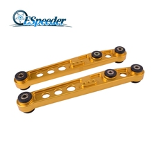 ESPEEDER Racing Suspension Rear Lower Control Arms For Acura Civic EK 1990-2001 Lower Rear Control Arms(China)