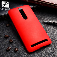 Colorful Oil-coated Rubber Matte Hard Case for Asus Zenfone2 ZE550ML Z00AD ZE551ML Zenfone 2 5.5' Slim Frosted Plastic cover XJQ