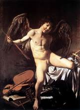 100 %hand-painted famous artists painting reproduction by Caravaggio handmade  oil painting high quality Amor-Victorious