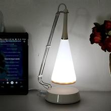USB Cable Rechargeable Cordless LED Table Lamp Modern Touch Control Bluetooth Speaker Dimmer Adjusted Audio Table Lampy Light