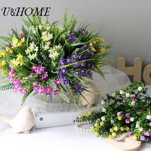 3pcs/lot artificial plastic gardenia flower high quality mulberry notes fake flore for home wedding DIY bouquet decoration bulk(China)