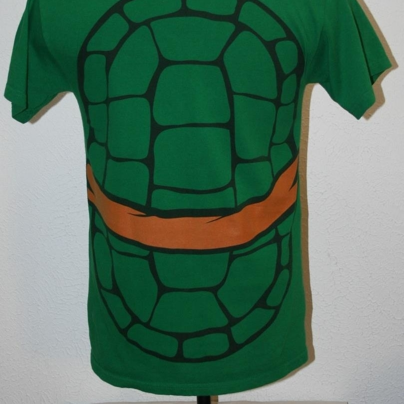 Teenage Mutant Ninja Turtles T-Shirt Medium Mens Chest: 40 TMNT Green (2)