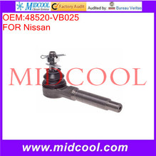 High Quality Auto Parts Front Right Steering Tie Rod End OEM:48520-VB025