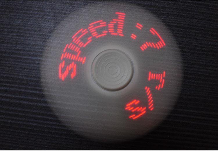 LED tulega bluetooth spinner