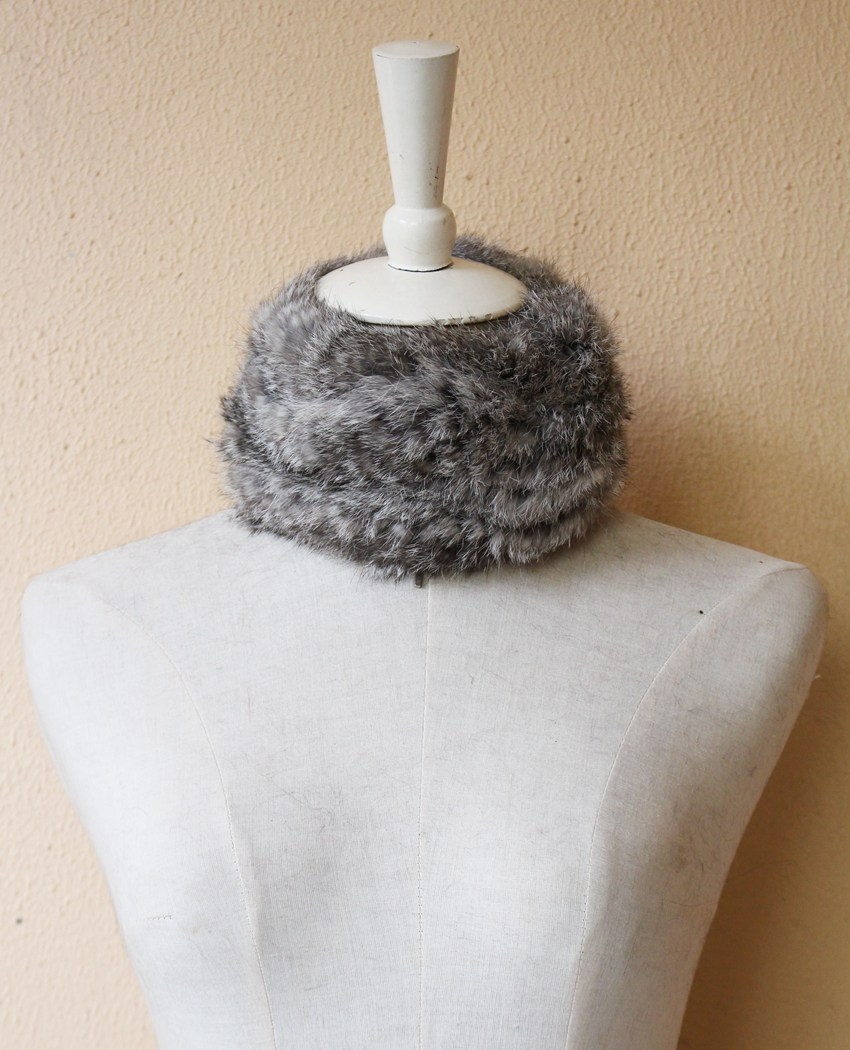 fur scarf rabbit rex for women (7)