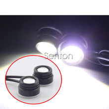 2X Car 3M Sticker Eagle Eye DRL Light For Toyota Corolla Avensis RAV4 Yaris Auris Hilux Prius verso For Buick Excelle Encore(China)