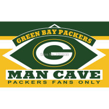 Green Bay Packers Fans Only Flag MAN CAVE Banner Flag World Series Football Team 3ft X 5ft Banners Green Bay Packers Flag(China)