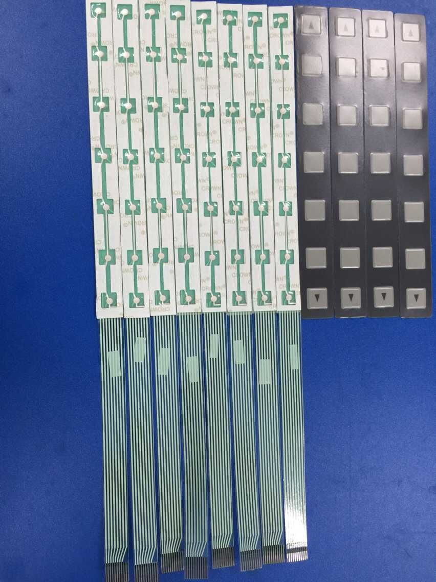 A86L-0001-0298/A98L-0005-0252 CNC HMI Membrane Keypad button bar for Fanuc Machine Operator Panel 12 Key Cheap Shipping<br>