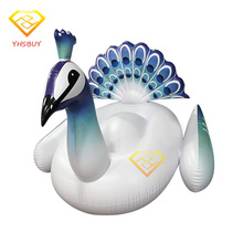 70Inch 190CM Giant Inflatable Peacock Unicorn Pool Float 2017 New Peahen Water Toy For Adult Air Mattress Swimming Board Piscina
