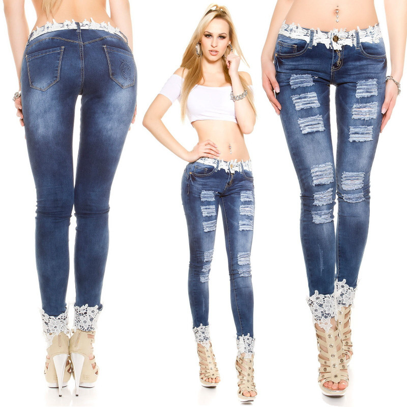 Online Get Cheap Sexy Lace Jeans -Aliexpress.com | Alibaba Group