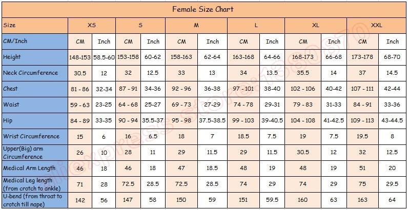 smt female size
