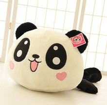 35cm Panda doll pillow, panda plush toy, peluche panda toy hug bear stuffed animal doll valentine girl(China)