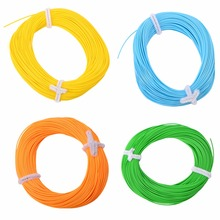 100ft Fly Fishing Line Pesca Fishing Line Forward Floating WF4F WF5F WF6F WF7F WF8F Fly Line Sinking Line 4 Colors Optional(China)