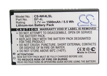 BP-4L Battery For NOKIA 6760 Slide, E52, E55, E61i, E63, E71, E71x, E72, E90, E90 Communicator, etc