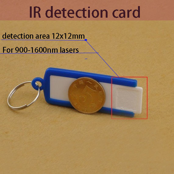 IR laser detection card for 900-1600nm lasers, such as 904nm 980nm 1064nm 1550nm lasers C2<br><br>Aliexpress