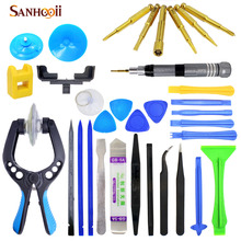 30in1 Cell Mobile Phone Screen Opening Plier Repair Tools Kit Screwdriver Pry Spudger Tools set For iPhone 5 5s 6 6s iPad 2 3 4(China)