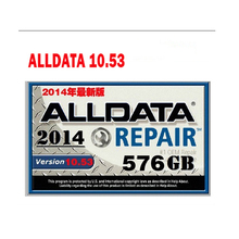 Alldata software Alldata auto repair software in 750gb new hdd harddisk all data v10.53 support most car vehicles fit wins 7/8(China)