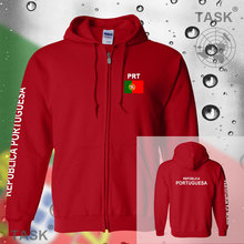 Portugal PRT Portuguese mens hoodies and sweatshirt new white jerseys polo sweat new streetwear tracksuit nations fleece zipper(China)