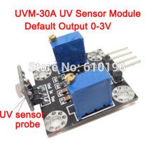 3PCS/LOT UVM-30A UV Sensor Module With Linear Output(China)
