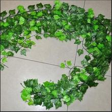 Home Decor 2.5m Delicate Artificial Ivy Leaf Garland Plants Vine Fake Foliage Flowers Beatiful Party Wedding Supplies