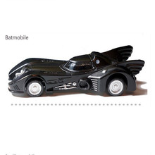 2015 Hot selling 5 kinds of style Batman Batmobile 4th Car Diecast Metal Car Model Toy (1pcs)