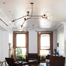 Chandeliers Lighting Modern Lamp Novelty Pendant Lamp Natural Tree Branch Suspension Christmas Light Hotel Dinning Room