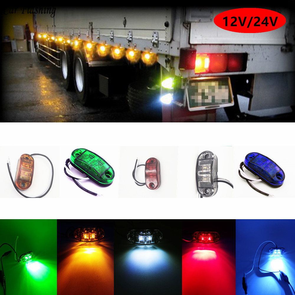 12V Red /& Green LED Navigation Signal Light Lamp Ass For Marine Boat Yacht NEW
