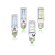 E27 Corn Bulb E14 220V Lamp Replace 7W 12W 15W 20W 25W 30W Compact Fluorescent Light SMD 5730 24/36/48/56/69/72 LED Chandelier