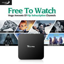 Best Arabic IPTV Box Amlogic S905X 2G 16G Free 700 Subscription Channels Europe French Android 6.0 Smart TV - Shenzhen Kingstar Technology Co Ltd store