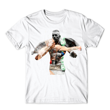 2017 Men's Conor Mcgregor Cotton Print T-Shirt Fashion Summer Short Sleeve Fitness T Shirt,Fight MMA Clothing TEES