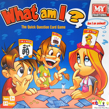 Quick Question Game What Am I Board Game 2-4 Players With Headbands Kids Toy Gift Parent-child Interaction Toy Gift(China)