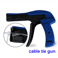 Free Shipping Good Quality  Nylon Cable Tie  Tool Mini Cable Tie Gun Suit For 2.2-4.8MM Nylon Cable Tie