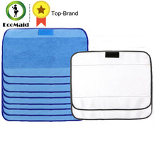 Microfiber 8pcs Wet & 2pcs Dry Dweeping Mopping Cloths for irobot Braava Minit 4200 5200 5200C 380 380t cleanning robot parts