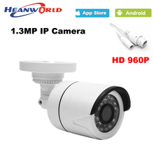 960P IP camera mini 1.3MP IP Camera outdoor waterproof hd Night Vision ONVIF CCTV Security Camera Network IP Cam ABS plastic