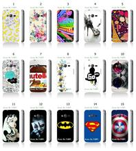 retail 15designs cat batman hybrid white hard cover mobile phone cases for Samsung GALAXY Ace 4 NXT G313 G313H Lite SM free ship