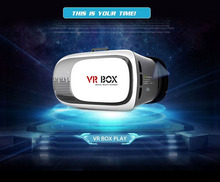 VR BOX 2.0 Virtual Reality Heaset Glass Compatible 3.5-6 Inch Smart Phone Video Movie Game 3D Glasses(China)