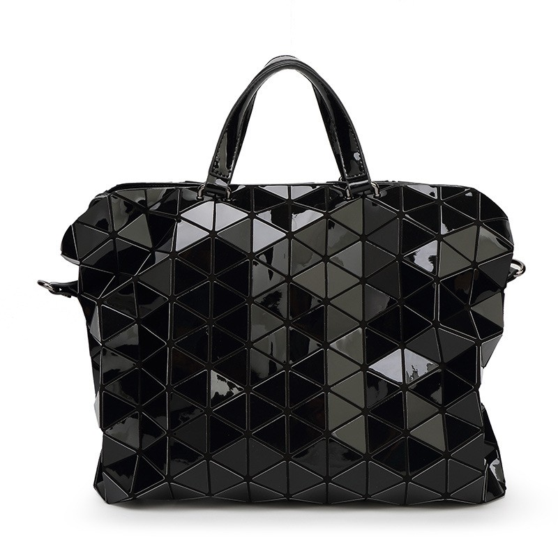 ALIEME Brand Design Women BAOBAO Bag Geometry Package Sequins Saser Plain Folding Ladies Handbags Shoulder messenger Bags<br>