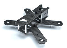 Mini 210mm Pure Carbon Fiber Quadcopter Frame Kit For Lisam LS-210 QAV210(China)
