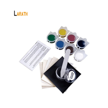 LARATH Liquid Leather and Vinyl Repair Kit for Car Leather Paint Air Dry Repairs Holes/Rips/Tears/Gouges
