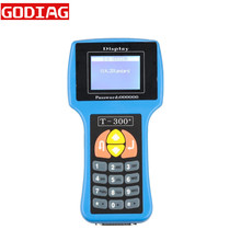 Main Unit for Sale of T300 Programmer Blue Spanish V2016.8 T300 Key Programmer T300+T 300 Key Programmer For Multi-Brand Vehicle(China)