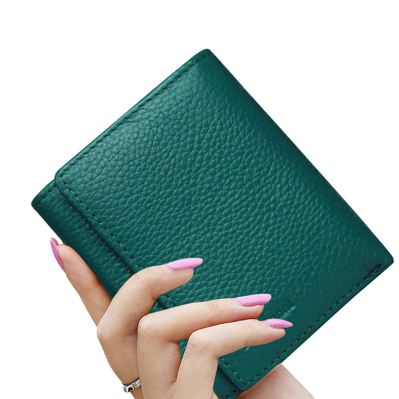 Zuoerdanni 2016 New Arrival Genuine Leather Women Wallet Short Lady Wallets Female Coin Small Purse Handbag A60<br><br>Aliexpress