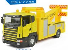 HOT sale !!! free shipping Wrecker engineering truck truck toy vehicle simulation model of metal alloy for children gifts(China)