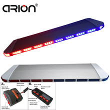 "12V-24V Universal 47""Inch 88 LED Long Row Car Light Emergency Warning light Recovery Rescue Flashing RED BLUE LightBar(China)"