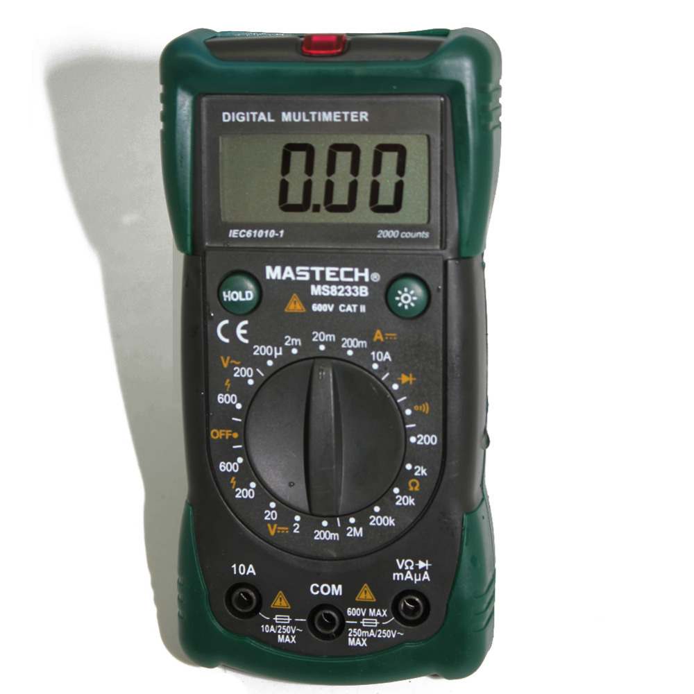MASTECH New MS8233B multimeter tester backlight diode AC DC R<br><br>Aliexpress